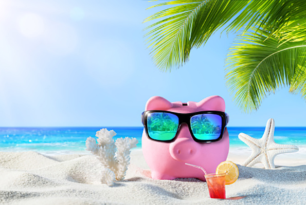 Piggy Bank at the beach_2